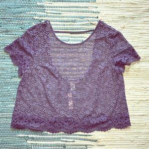 Victoria's Secret Tops - NWT Victoria's Secret lace crop top